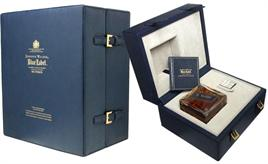 Johnnie Walker Scotch Blue Label 200Th Anniversary Baccarat Decan
